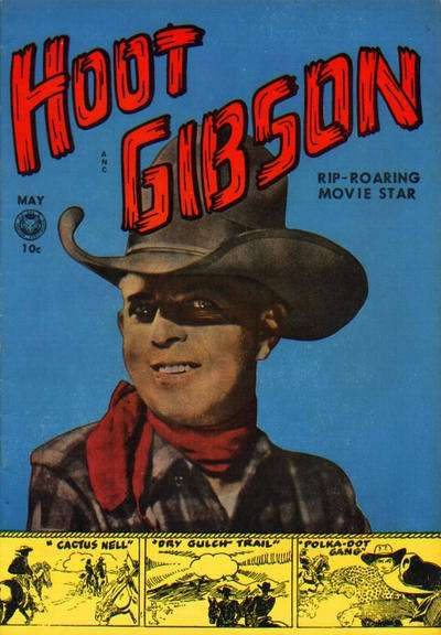 Hoot Gibson #1 comic books - cover scans photos Hoot Gibson #1 comic books - covers, picture gallery