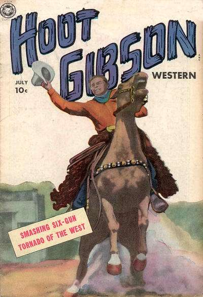 Hoot Gibson #2 comic books - cover scans photos Hoot Gibson #2 comic books - covers, picture gallery