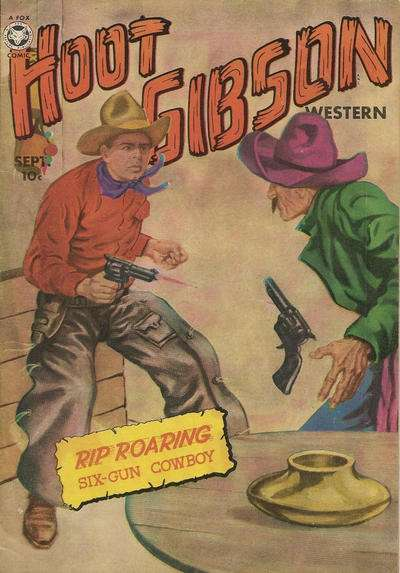 Hoot Gibson #3 comic books - cover scans photos Hoot Gibson #3 comic books - covers, picture gallery