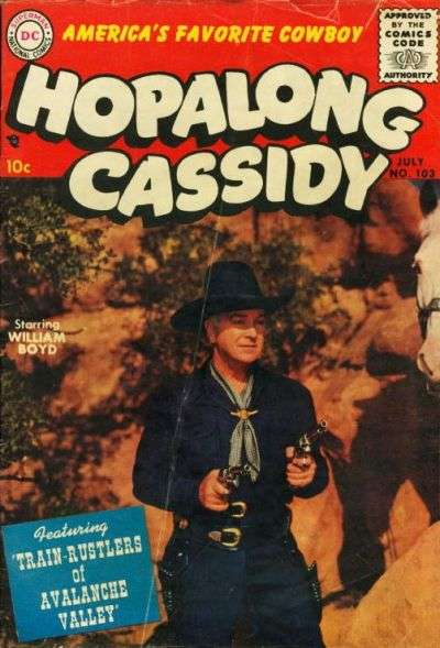 Hopalong Cassidy #103 comic books for sale