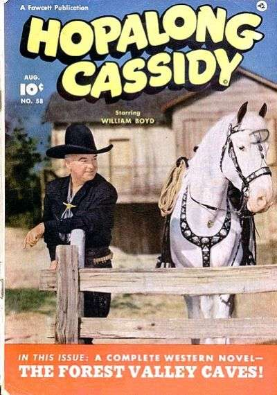 Hopalong Cassidy #58 comic books for sale