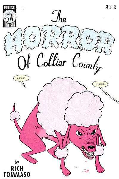 Horror of Collier County #3 comic books for sale