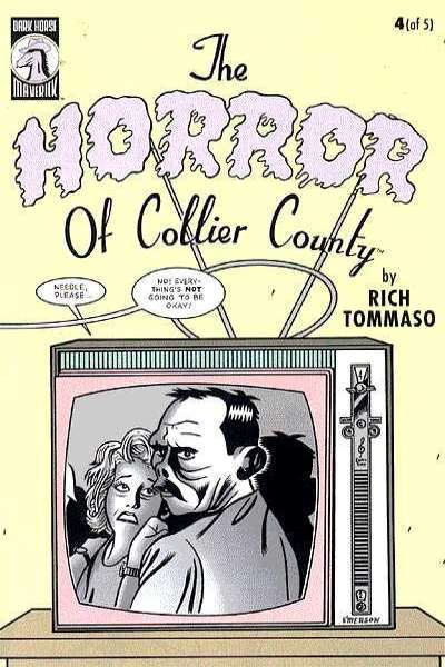 Horror of Collier County #4 comic books for sale