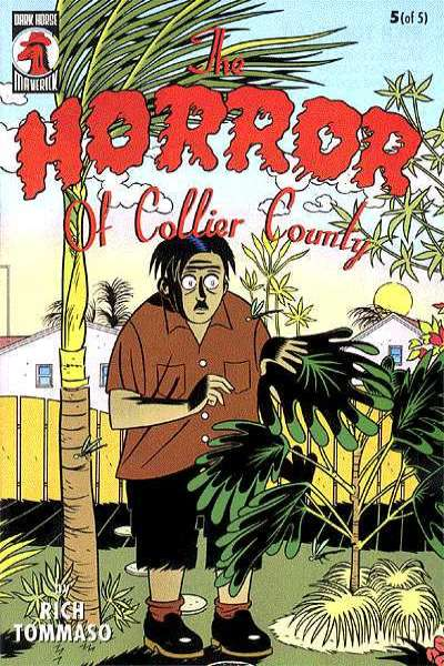 Horror of Collier County #5 comic books for sale