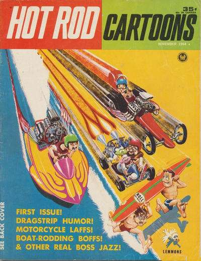 Hot Rod Cartoons comic books