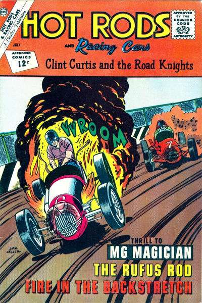 Hot Rods and Racing Cars #58 Comic Books - Covers, Scans, Photos  in Hot Rods and Racing Cars Comic Books - Covers, Scans, Gallery