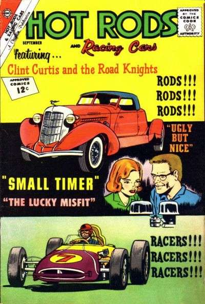 Hot Rods and Racing Cars #59 Comic Books - Covers, Scans, Photos  in Hot Rods and Racing Cars Comic Books - Covers, Scans, Gallery