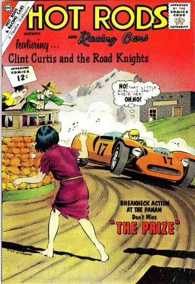 Hot Rods and Racing Cars #60 Comic Books - Covers, Scans, Photos  in Hot Rods and Racing Cars Comic Books - Covers, Scans, Gallery