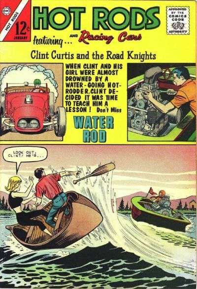 Hot Rods and Racing Cars #61 Comic Books - Covers, Scans, Photos  in Hot Rods and Racing Cars Comic Books - Covers, Scans, Gallery