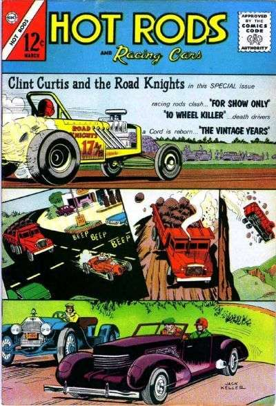 Hot Rods and Racing Cars #62 comic books for sale