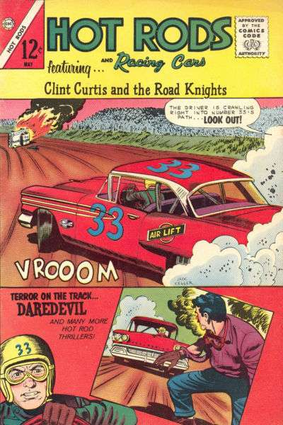 Hot Rods and Racing Cars #63 Comic Books - Covers, Scans, Photos  in Hot Rods and Racing Cars Comic Books - Covers, Scans, Gallery