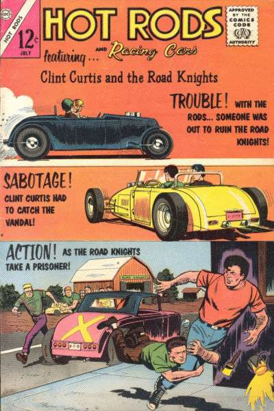 Hot Rods and Racing Cars #64 comic books - cover scans photos Hot Rods and Racing Cars #64 comic books - covers, picture gallery