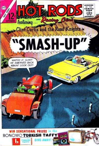 Hot Rods and Racing Cars #65 comic books for sale