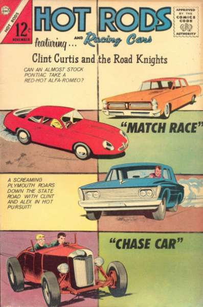 Hot Rods and Racing Cars #66 Comic Books - Covers, Scans, Photos  in Hot Rods and Racing Cars Comic Books - Covers, Scans, Gallery
