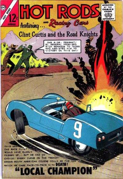 Hot Rods and Racing Cars #67 comic books for sale