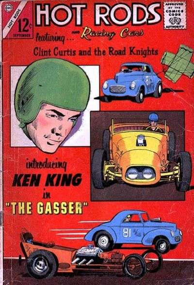 Hot Rods and Racing Cars #70 Comic Books - Covers, Scans, Photos  in Hot Rods and Racing Cars Comic Books - Covers, Scans, Gallery