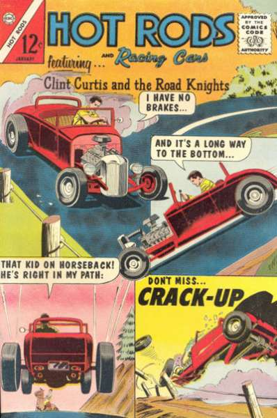 Hot Rods and Racing Cars #72 Comic Books - Covers, Scans, Photos  in Hot Rods and Racing Cars Comic Books - Covers, Scans, Gallery