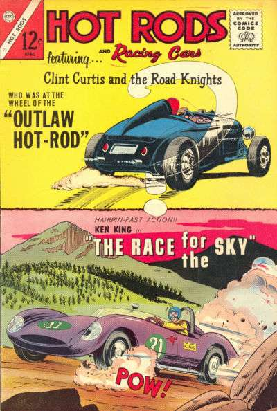 Hot Rods and Racing Cars #73 Comic Books - Covers, Scans, Photos  in Hot Rods and Racing Cars Comic Books - Covers, Scans, Gallery