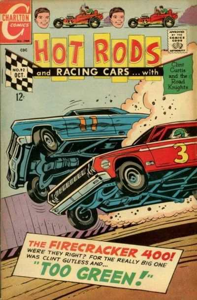 Hot Rods and Racing Cars #92 Comic Books - Covers, Scans, Photos  in Hot Rods and Racing Cars Comic Books - Covers, Scans, Gallery