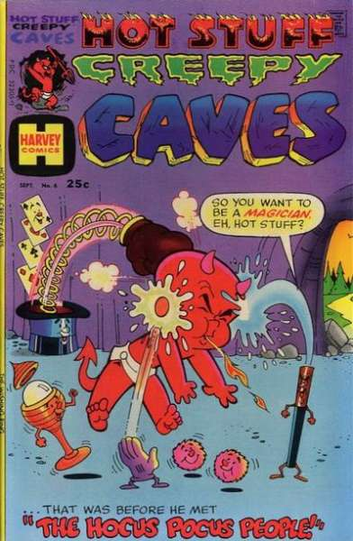 Hot Stuff Creepy Caves #6 Comic Books - Covers, Scans, Photos  in Hot Stuff Creepy Caves Comic Books - Covers, Scans, Gallery