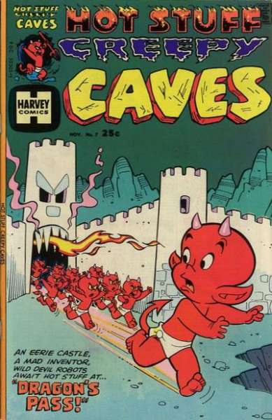 Hot Stuff Creepy Caves #7 Comic Books - Covers, Scans, Photos  in Hot Stuff Creepy Caves Comic Books - Covers, Scans, Gallery