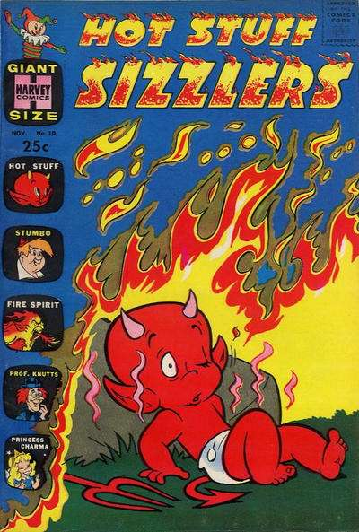 Hot Stuff Sizzlers #10 comic books for sale