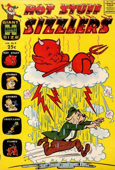 Hot Stuff Sizzlers #9 Comic Books - Covers, Scans, Photos  in Hot Stuff Sizzlers Comic Books - Covers, Scans, Gallery