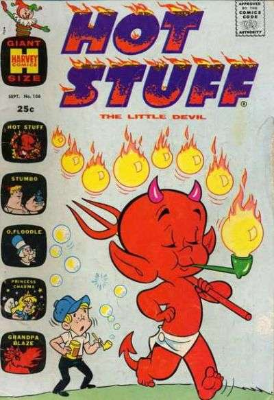 Hot Stuff: The Little Devil #106 Comic Books - Covers, Scans, Photos  in Hot Stuff: The Little Devil Comic Books - Covers, Scans, Gallery