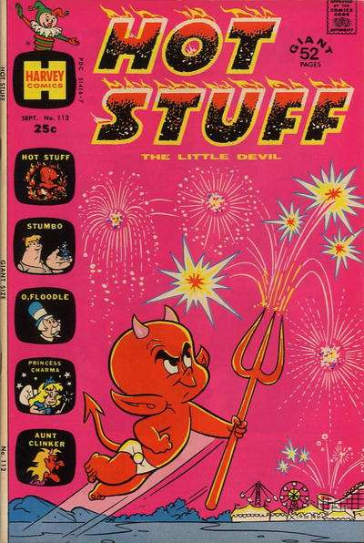Hot Stuff: The Little Devil #112 comic books for sale