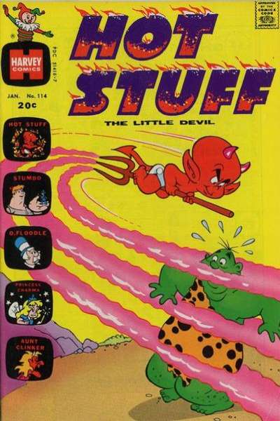 Hot Stuff: The Little Devil #114 Comic Books - Covers, Scans, Photos  in Hot Stuff: The Little Devil Comic Books - Covers, Scans, Gallery