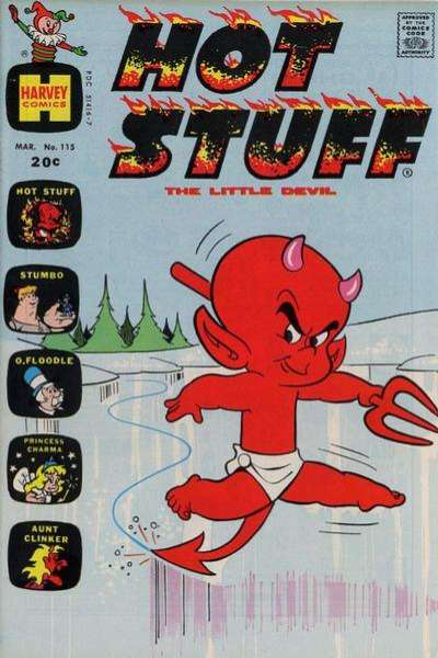 Hot Stuff: The Little Devil #115 comic books for sale
