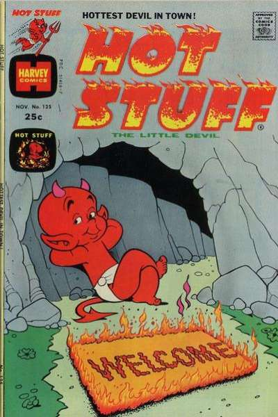 Hot Stuff: The Little Devil #125 Comic Books - Covers, Scans, Photos  in Hot Stuff: The Little Devil Comic Books - Covers, Scans, Gallery