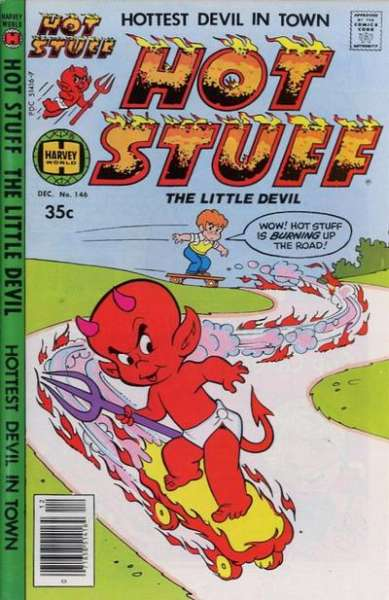Hot Stuff: The Little Devil #146 Comic Books - Covers, Scans, Photos  in Hot Stuff: The Little Devil Comic Books - Covers, Scans, Gallery