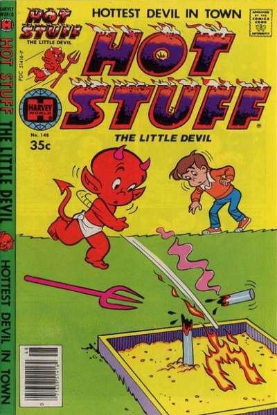 Hot Stuff: The Little Devil #148 comic books for sale