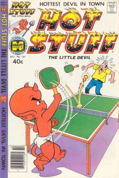 Hot Stuff: The Little Devil #151 Comic Books - Covers, Scans, Photos  in Hot Stuff: The Little Devil Comic Books - Covers, Scans, Gallery
