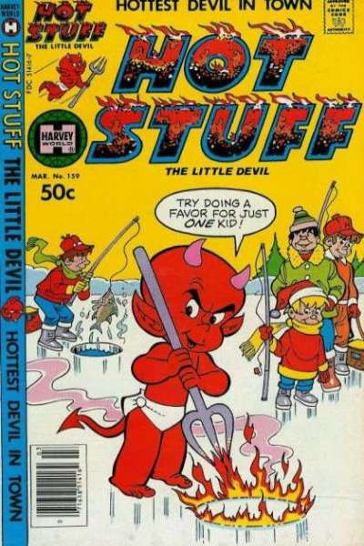 Hot Stuff: The Little Devil #159 Comic Books - Covers, Scans, Photos  in Hot Stuff: The Little Devil Comic Books - Covers, Scans, Gallery