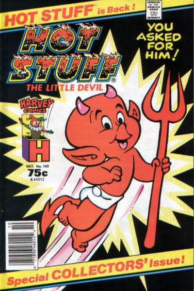 Hot Stuff: The Little Devil #165 Comic Books - Covers, Scans, Photos  in Hot Stuff: The Little Devil Comic Books - Covers, Scans, Gallery