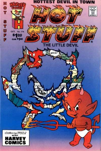 Hot Stuff: The Little Devil #174 Comic Books - Covers, Scans, Photos  in Hot Stuff: The Little Devil Comic Books - Covers, Scans, Gallery