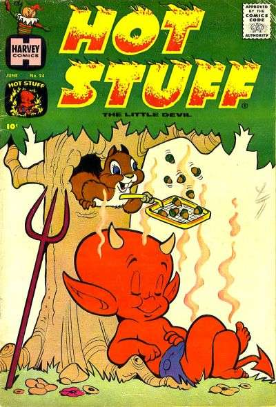 Hot Stuff: The Little Devil #24 comic books for sale