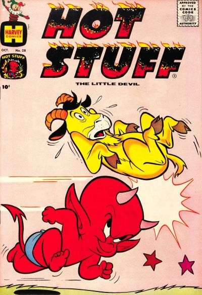 Hot Stuff: The Little Devil #28 comic books for sale