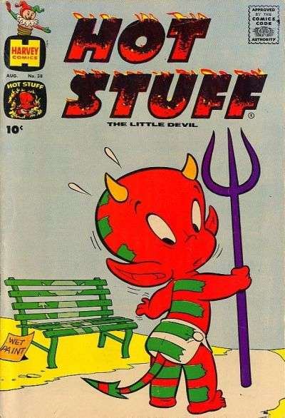 Hot Stuff: The Little Devil #38 comic books - cover scans photos Hot Stuff: The Little Devil #38 comic books - covers, picture gallery