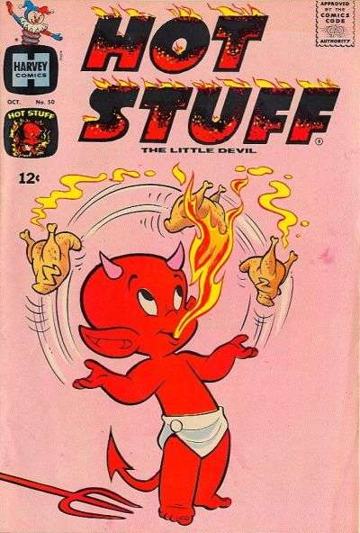 Hot Stuff: The Little Devil #50 comic books - cover scans photos Hot Stuff: The Little Devil #50 comic books - covers, picture gallery