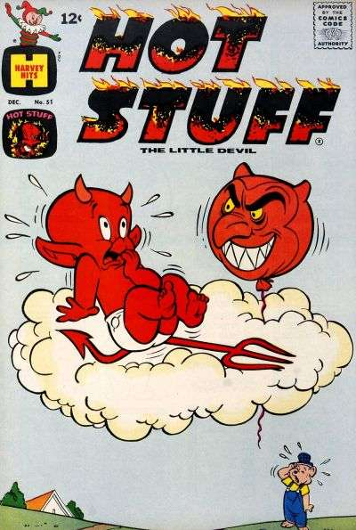 Hot Stuff: The Little Devil #51 comic books - cover scans photos Hot Stuff: The Little Devil #51 comic books - covers, picture gallery