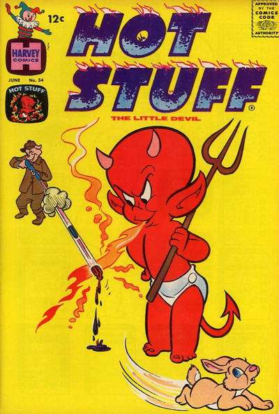 Hot Stuff: The Little Devil #54 Comic Books - Covers, Scans, Photos  in Hot Stuff: The Little Devil Comic Books - Covers, Scans, Gallery