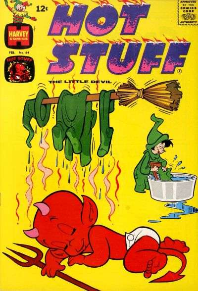 Hot Stuff: The Little Devil #64 comic books for sale