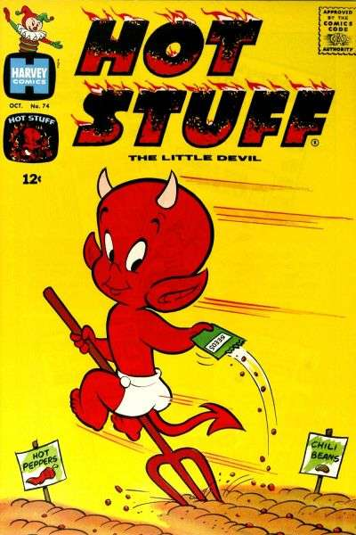 Hot Stuff: The Little Devil #74 Comic Books - Covers, Scans, Photos  in Hot Stuff: The Little Devil Comic Books - Covers, Scans, Gallery