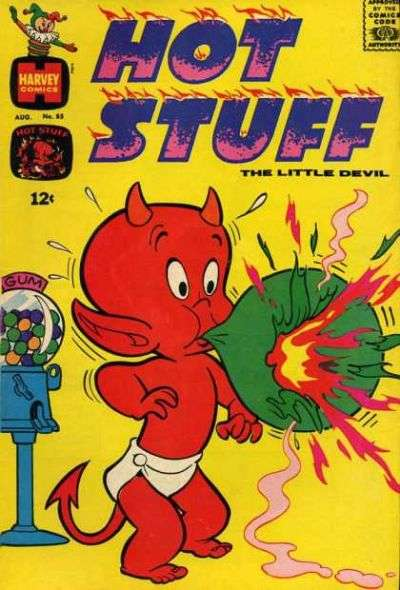 Hot Stuff: The Little Devil #85 Comic Books - Covers, Scans, Photos  in Hot Stuff: The Little Devil Comic Books - Covers, Scans, Gallery