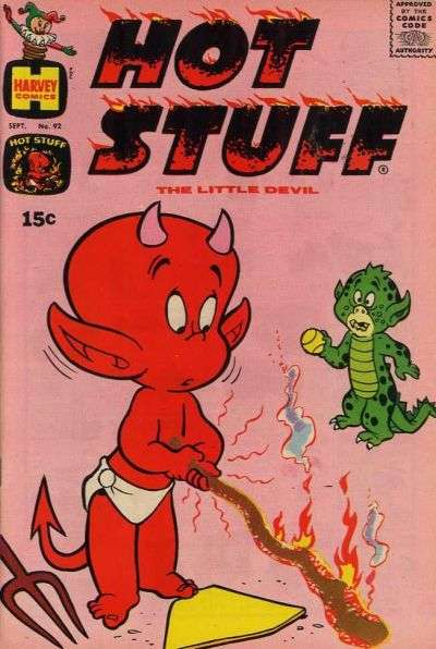 Hot Stuff: The Little Devil #92 Comic Books - Covers, Scans, Photos  in Hot Stuff: The Little Devil Comic Books - Covers, Scans, Gallery