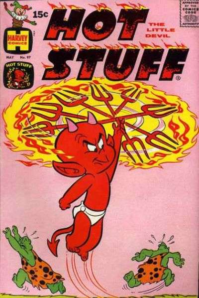 Hot Stuff: The Little Devil #97 Comic Books - Covers, Scans, Photos  in Hot Stuff: The Little Devil Comic Books - Covers, Scans, Gallery