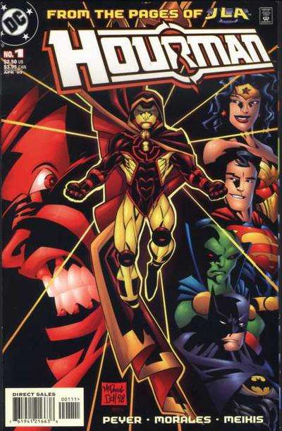 Hourman comic books